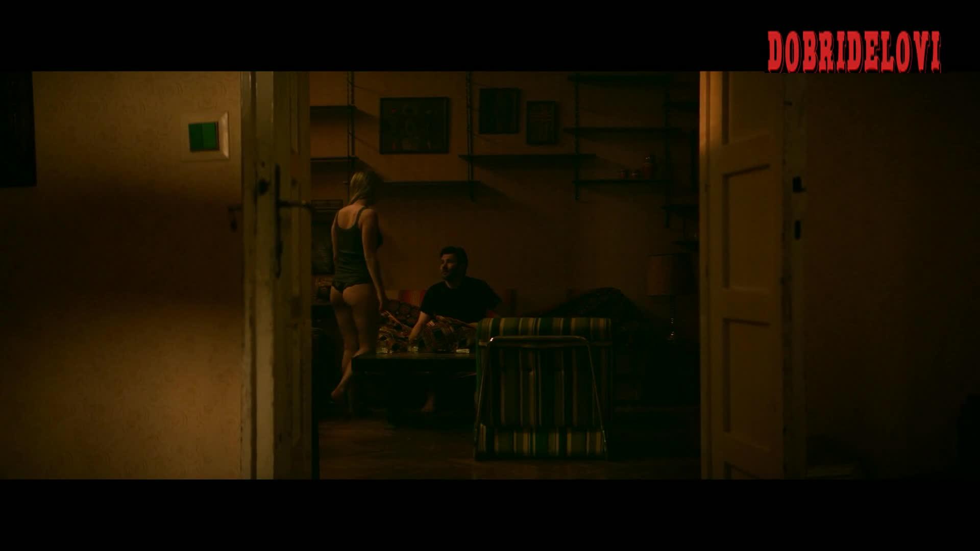 Jennifer Lawrence black panties scene in Red Sparrow